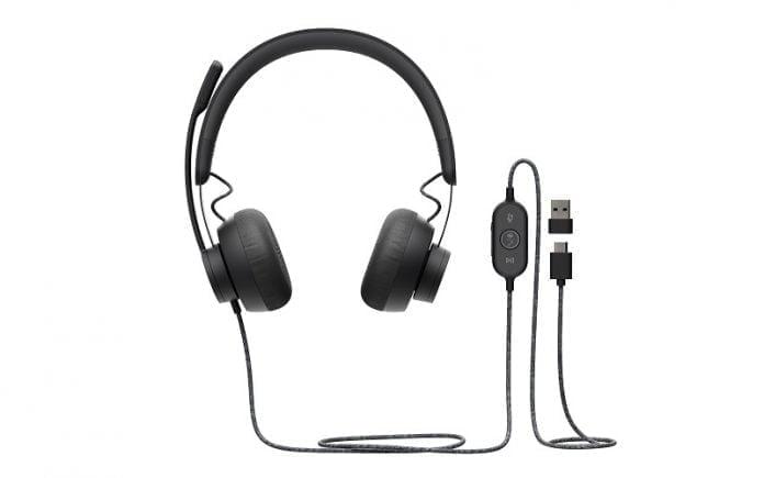 Kişisel Çalışma Alanları İçin Logitech Zone Kablolu Kulaklık