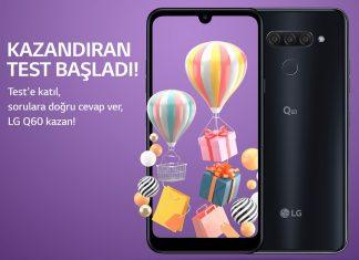 LG'den Q60 Kazandıran Yarışma