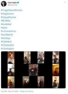 Twitter'daki Canlı Konserler Evde Kalma Günlerinde Yardıma Koşuyor